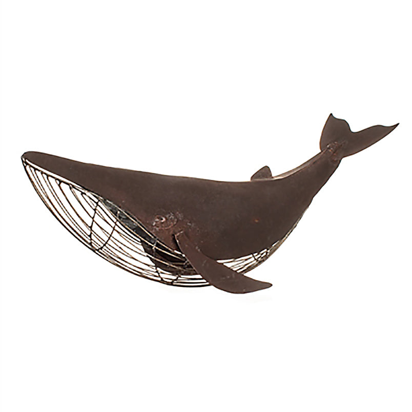Table Top Rusted Whale