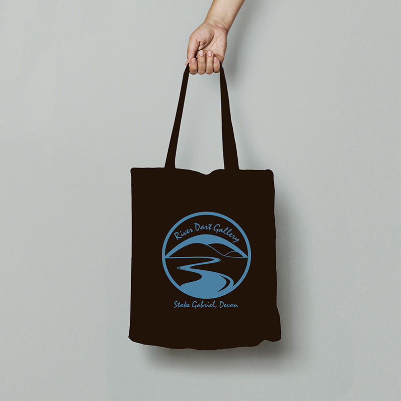 Stoke Gabriel jewel of the Dart organic tote bag