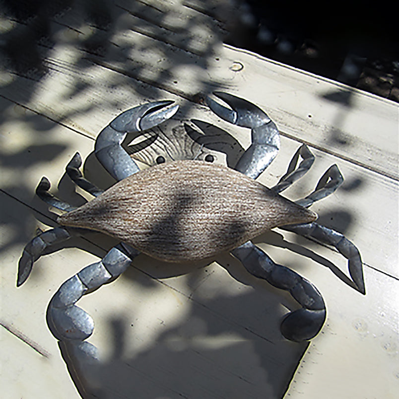 White Crab Wall Art