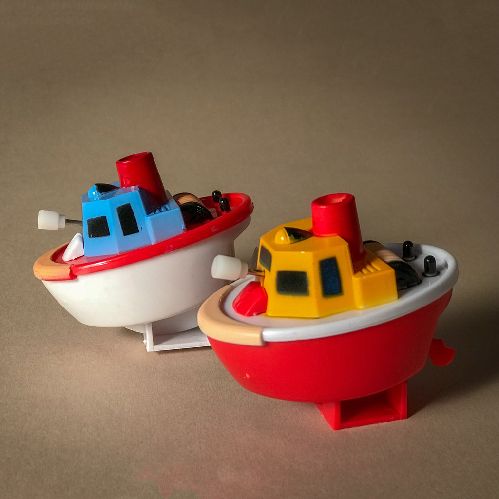 Wind up Boats