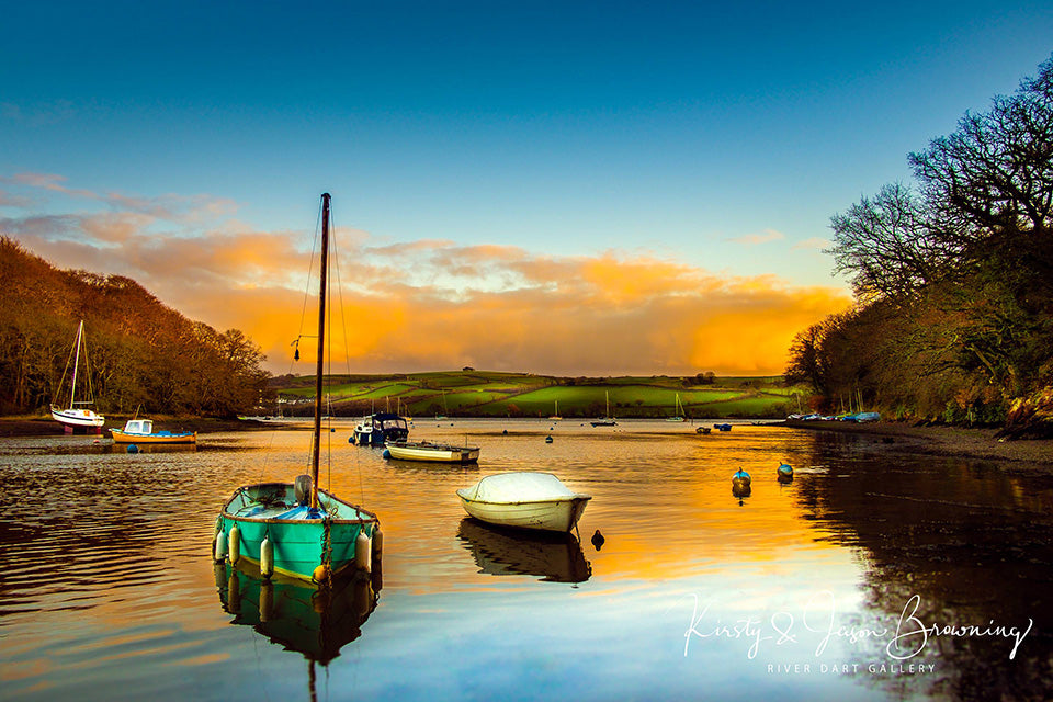 Evening Bliss Fine Art Photography by Kirsty & Jason Browning at River Dart Gallery