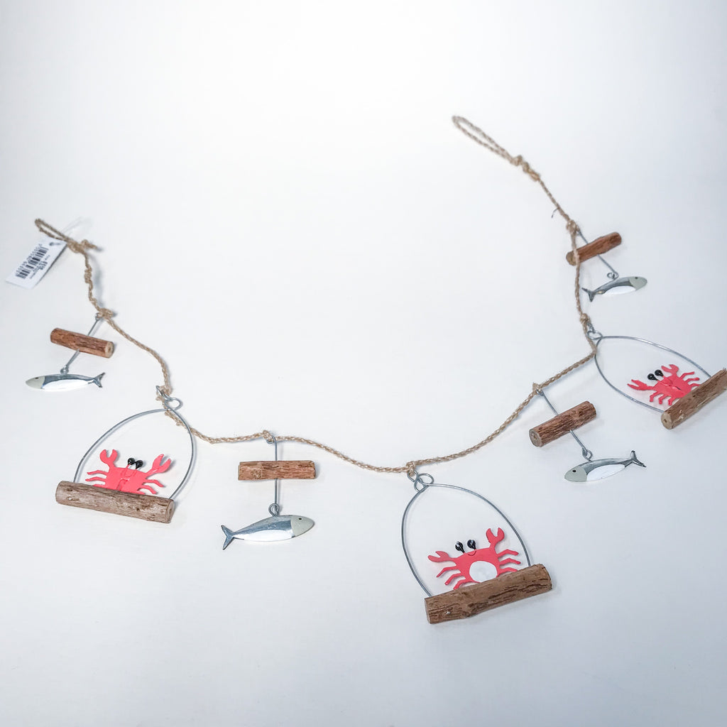 Crab and Fish Garland