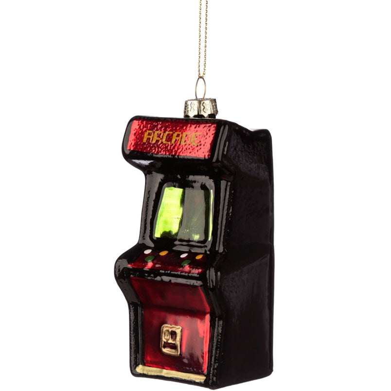 Hanging Glass Arcade Machine