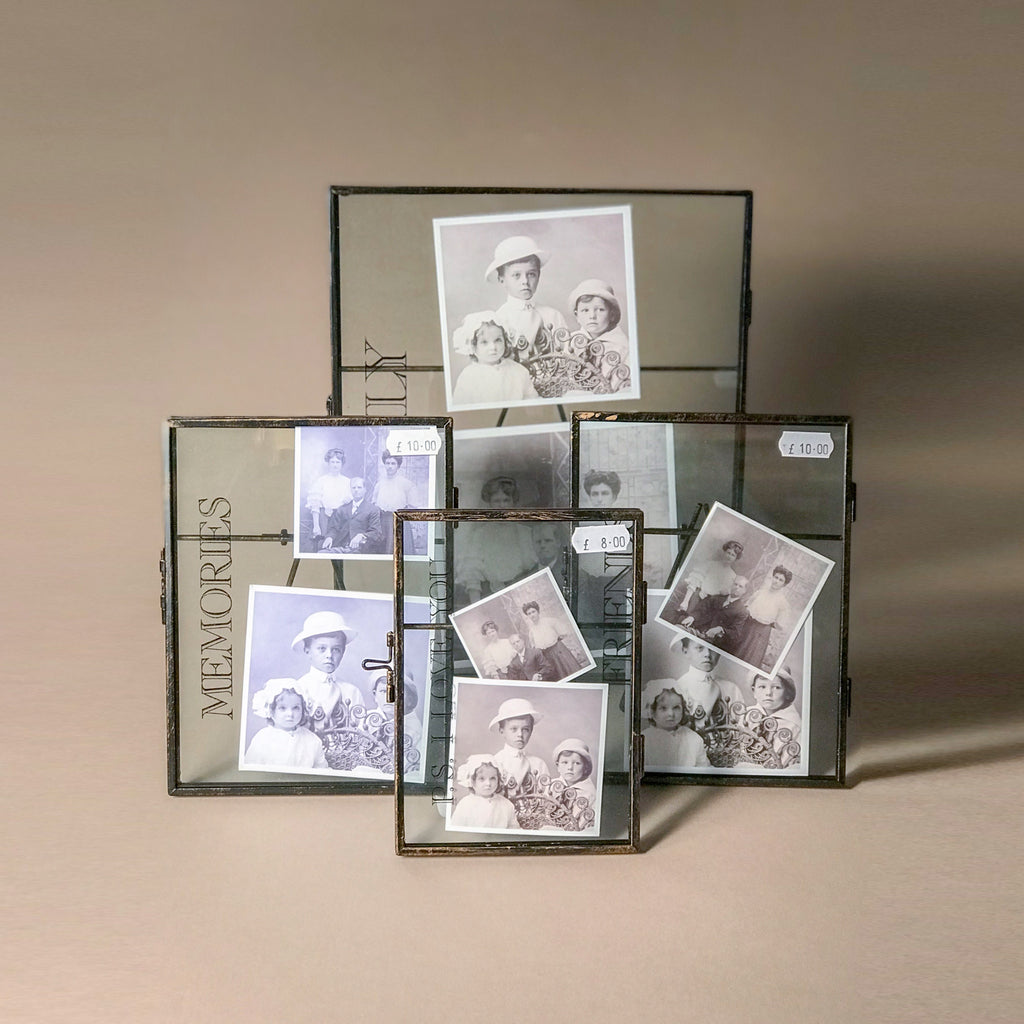"Glass Metal Frame ""Memories"""