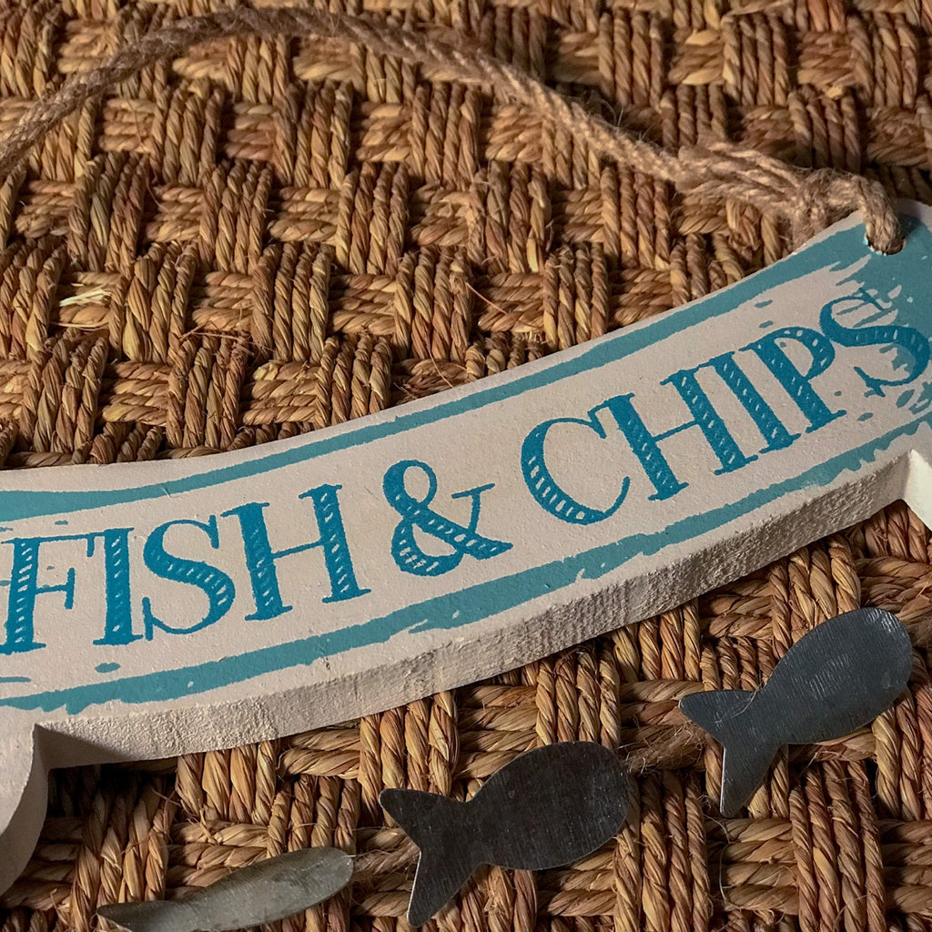 Fish & Chip Hanging Sign