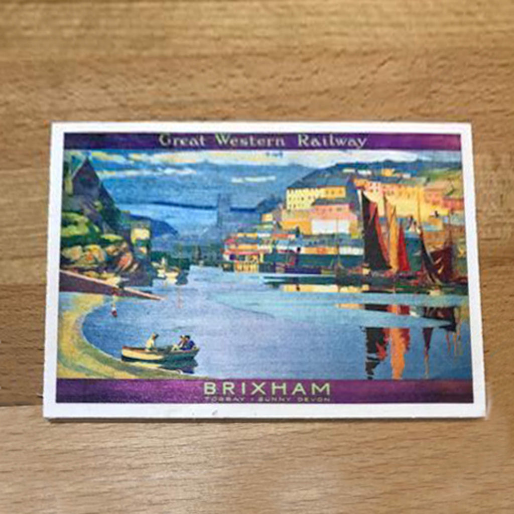 Wooden Postcard Brixham