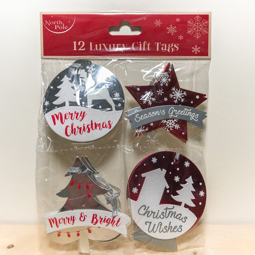 Luxury Gift Tags 12 pack