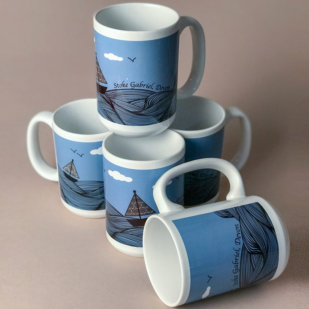 Large Mug - Sailboat