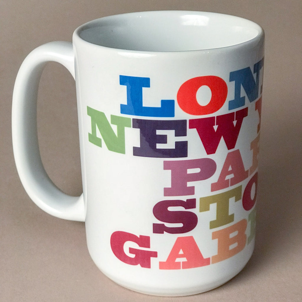 Large Mug - London to Stoke