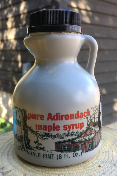 Half Pint (8 ounces) Pure Adirondack Maple Syrup