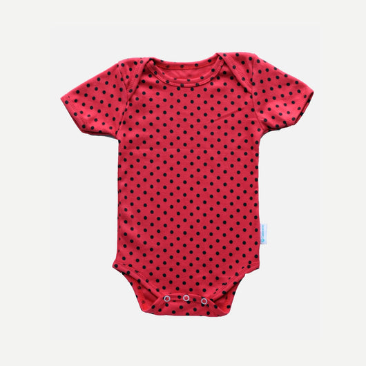 Bodysuit - Strawberry Polkadot