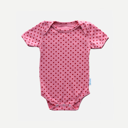 Bodysuit - Light Pink Polkadot