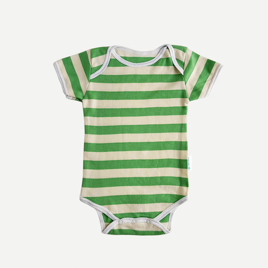 Bodysuit - Green Stripes