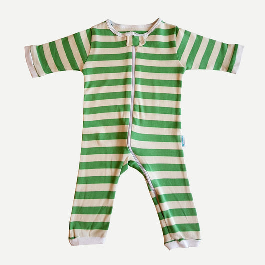 Jumpsuit - Green Stripes