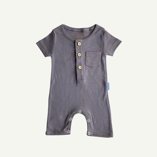 Romper - Smoke Grey