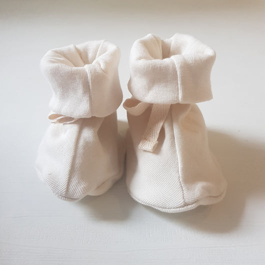 Booties - Natural White