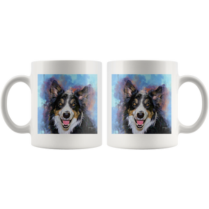 Watercolor Pet Mug Printing - P.A.W