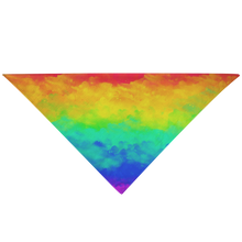 Load image into Gallery viewer, Pet Bandana - Rainbow - P.A.W