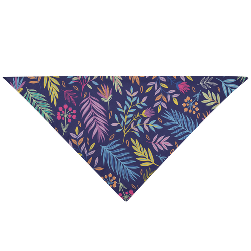 Pet Bandana - Colorful Flora - P.A.W