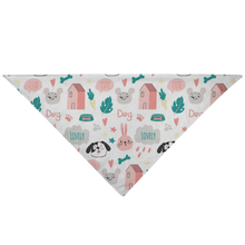 Load image into Gallery viewer, Pet Bandana - Cute Pets - P.A.W
