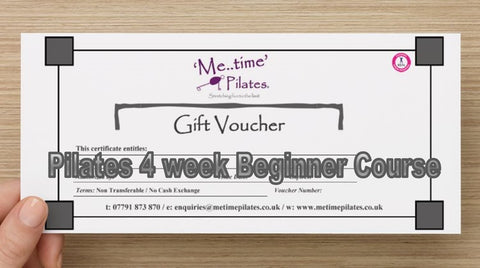 Gift Voucher - Pilates Group Beginner Course