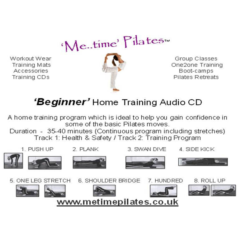 beginners pilates cd