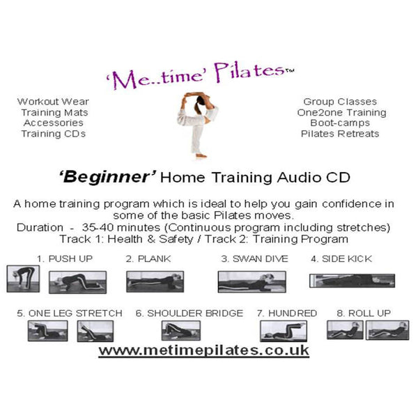 beginner home training pilates cd