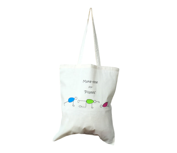 Pilates eco shopping bag