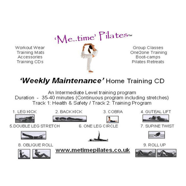 weekly maintenance home training cd