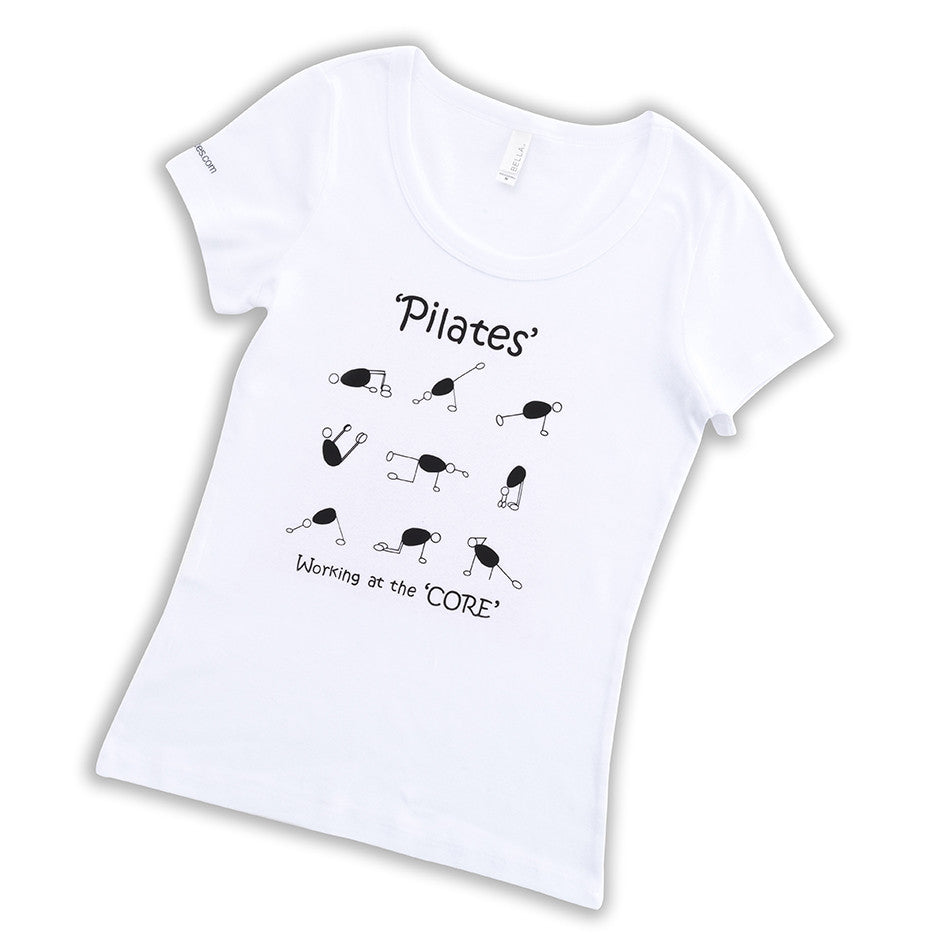 Cotton t-shirt - Pilates Characters
