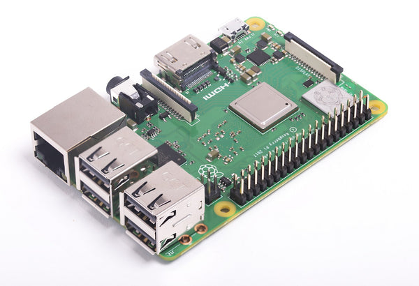 Raspberry Pi 3B+ mit GBit Ethernet Port, WLAN 802.11ac, Bluetooth 4.2, und 1,4 GHz Taktfrequenz