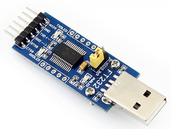 FT232 USB UART Board (Type A) - Waveshare