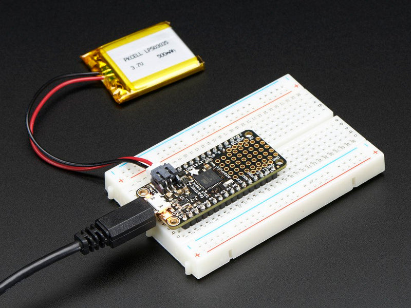 Adafruit Feather 32u4 Basic Proto - compatible with Arduino