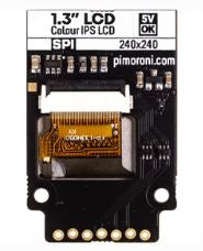 "1.3"" SPI Colour LCD (240x240) Breakout"