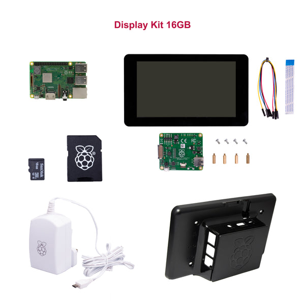 Display Kit: Raspberry Pi 3 Modell B+