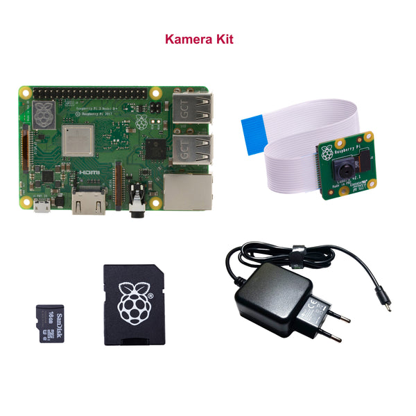 Kamera Kit: Raspberry Pi 3 Model B+