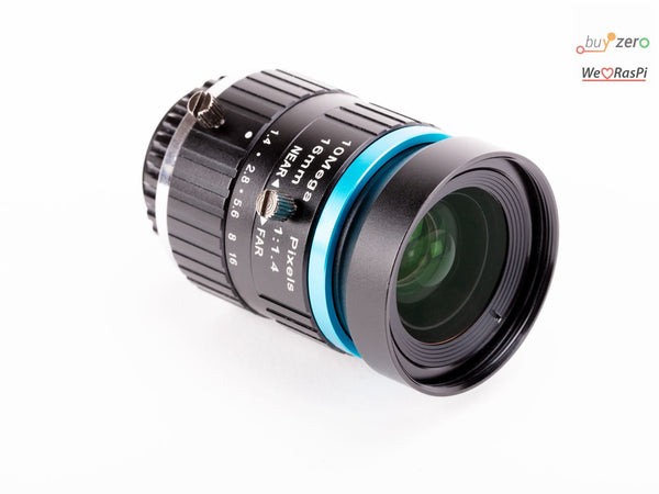 16mm Teleobjektiv für HQ Kamera (16mm telephoto lens for HQ Camera)