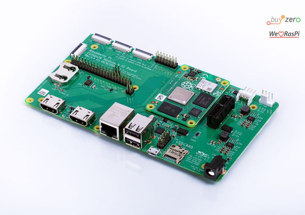 CM4IO Board for Compute Module 4 (CM4 Evaluation Board)