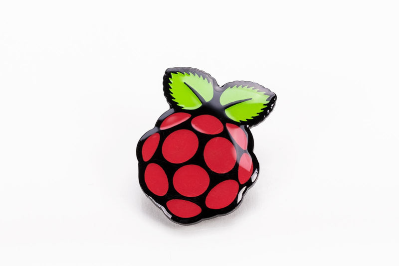 Raspberry Anstecker / Pin / Badge
