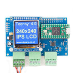Teensy 4.0 Triple CAN Board with 240x240 IPS LCD and uSD holder