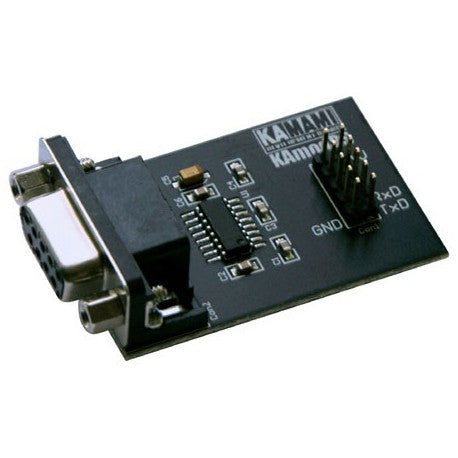 KAmodRS - voltage levels converter module with MAX3232 (RS232)