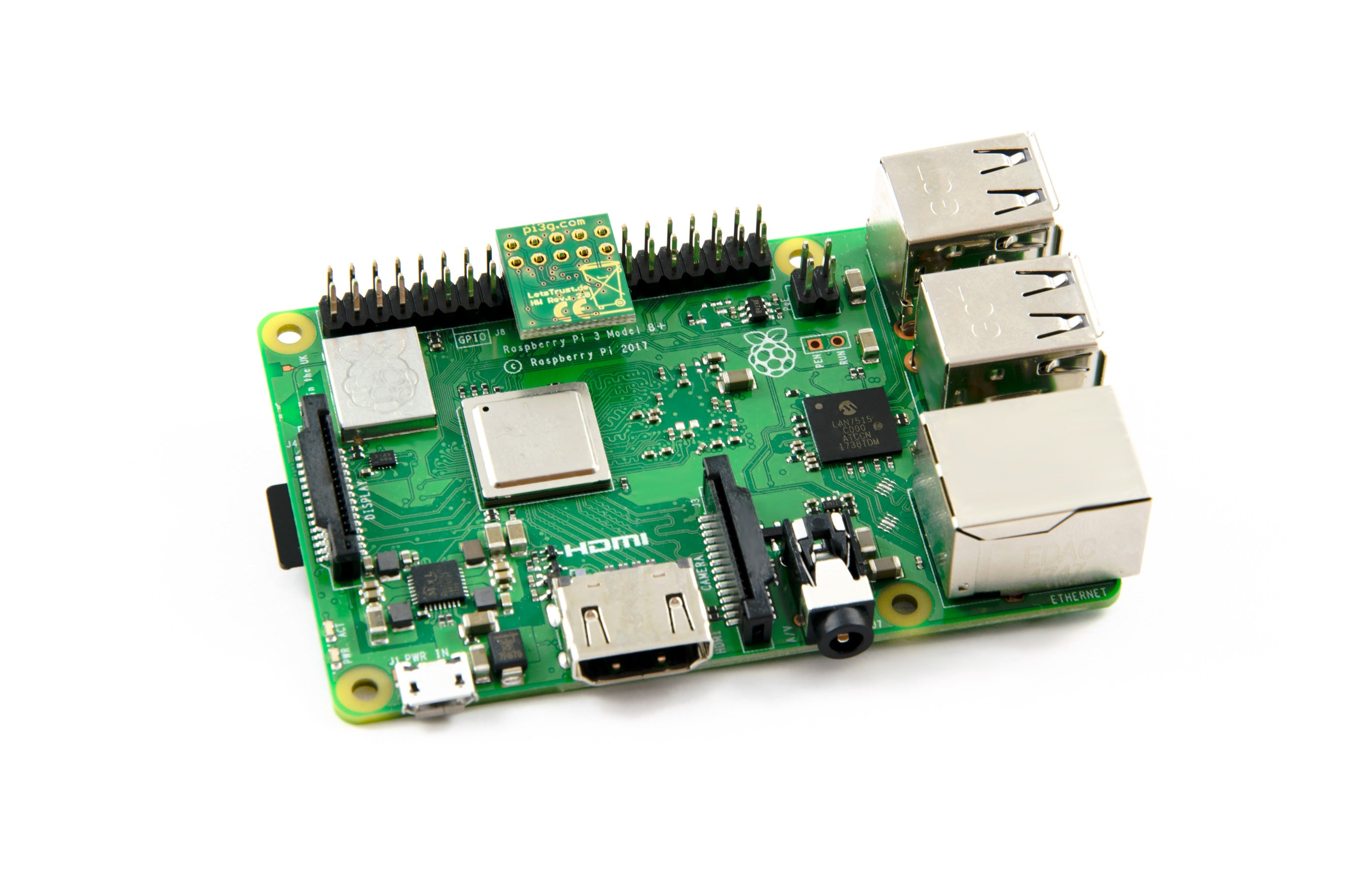 Letstrust Tpm Fr Den Raspberry Pi Pi3g Shield For Dummies Experimental Board Analog Digital