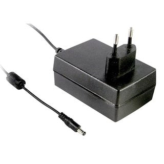 Meanwell GST25E05-P1J Wall Power Supply 5V/4A, 5.5x2.1mm Barrel Plug