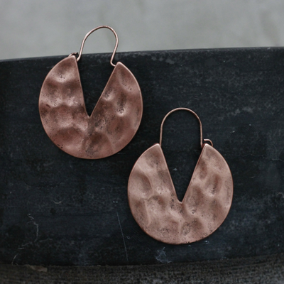 Copper Victory Earrings