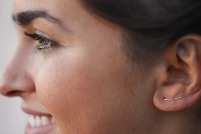 Camilla's Romance Earrings - 925 Sterling Silver & 14k Gold Fill