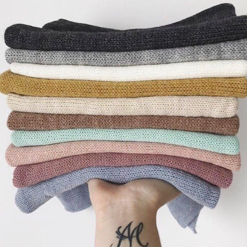 Alpaca Wrap All Colors