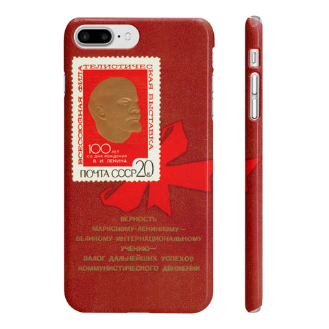 """Golden Lenin"" iPhone 7/8 Plus Case"