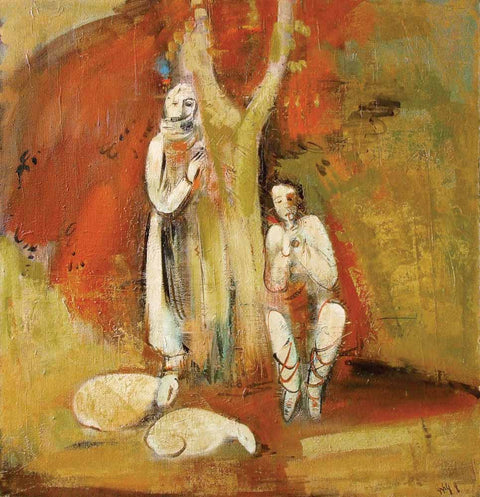Yuri Grigoryan Karabakh melody, canvas, oil, 105х102, 1993.