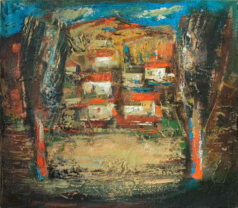 Yuri Grigoryan Millstones, 35х40, oil on canvas, 2007
