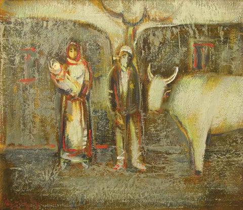 Yuri Grigoryan My fellow villagers, 35х40, 2001
